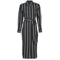 vaatteet Naiset Pitkä mekko Lauren Ralph Lauren RYNETTA-LONG SLEEVE-CASUAL DRESS Musta