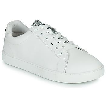 kengät Naiset Matalavartiset tennarit Bons baisers de Paname SIMONE EYES Valkoinen