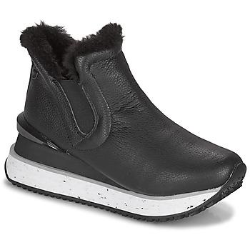 kengät Naiset Korkeavartiset tennarit Gioseppo FEDJE Musta