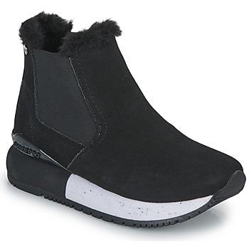 kengät Tytöt Korkeavartiset tennarit Gioseppo NORDEN Musta