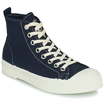 kengät Naiset Korkeavartiset tennarit Bensimon STELLA B79 Sininen