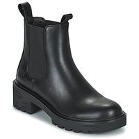 kengät Naiset Bootsit Lumberjack RAMONE BEATLES Musta
