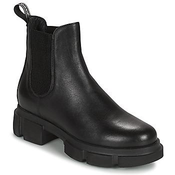 kengät Naiset Bootsit IgI&CO DONNA VELAR Musta