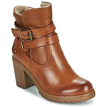 kengät Naiset Nilkkurit Refresh 78969 Kamelinruskea