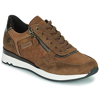 kengät Naiset Matalavartiset tennarit Refresh 77718 Ruskea