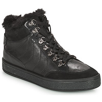 kengät Naiset Bootsit Geox LEELU Musta