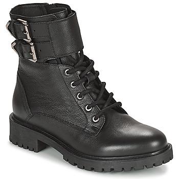 kengät Naiset Nilkkurit Geox HOARA Musta