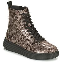 kengät Naiset Bootsit Geox PHAOLAE Ruskea