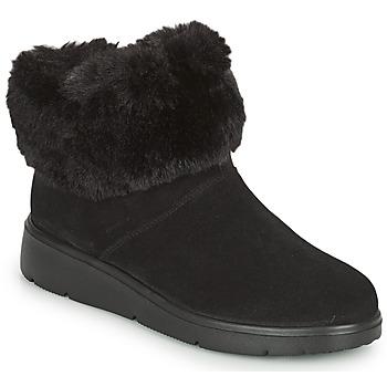 kengät Naiset Bootsit Geox ARLARA Musta