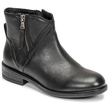 kengät Naiset Nilkkurit Geox CATRIA Musta