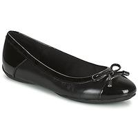 kengät Naiset Balleriinat Geox CHARLENE Musta
