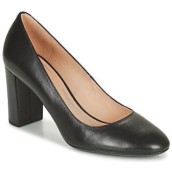 kengät Naiset Korkokengät Geox PHEBY Musta