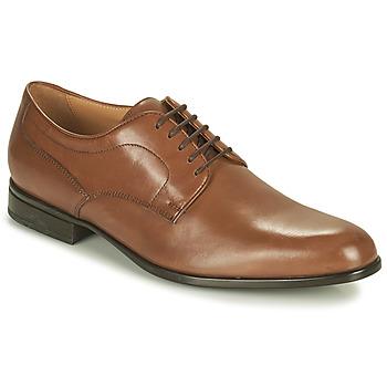 kengät Miehet Derby-kengät Geox IACOPO Ruskea