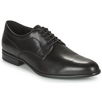 kengät Miehet Derby-kengät Geox IACOPO Musta