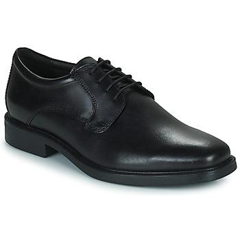 kengät Miehet Derby-kengät Geox BRANDOLF Musta