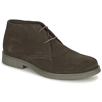 kengät Miehet Bootsit Geox CLAUDIO Ruskea