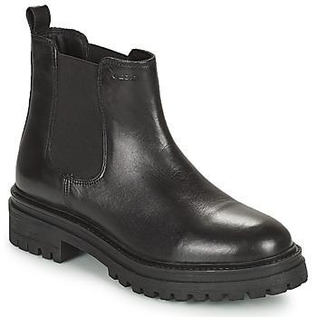 kengät Naiset Bootsit Geox IRIDEA Musta