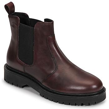 kengät Naiset Bootsit Geox BLEYZE Viininpunainen