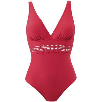 vaatteet Naiset Yksiosainen uimapuku Janine Robin 191055-50 Punainen