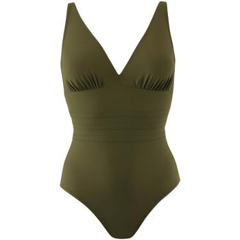 vaatteet Naiset Yksiosainen uimapuku Janine Robin 991015-25 Vihreä