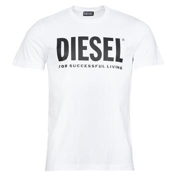 vaatteet Miehet Lyhythihainen t-paita Diesel T-DIEGOS-ECOLOGO Valkoinen