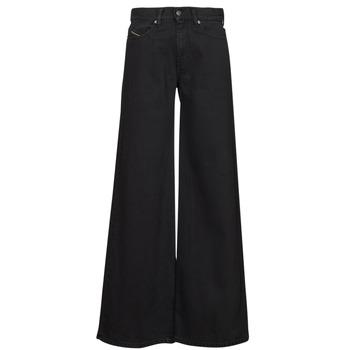 vaatteet Naiset Bootcut-farkut Diesel D-AKEMI Musta