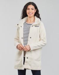 vaatteet Naiset Paksu takki Columbia PANORAMA LONG JACKET Valkoinen