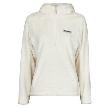vaatteet Naiset Fleecet Columbia BUNDLE UP HOODED PULLOVER Valkoinen