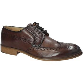 kengät Miehet Derby-kengät Exton 5351 Ruskea