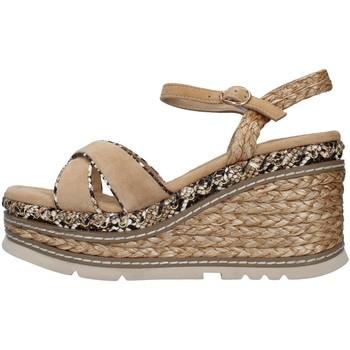 kengät Naiset Sandaalit ja avokkaat Alma En Pena V21501 BEIGE