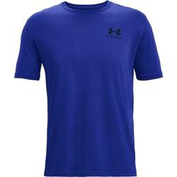 vaatteet Miehet Lyhythihainen t-paita Under Armour Sportstyle Left Chest Sininen