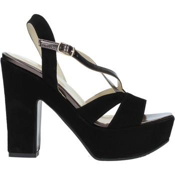 kengät Naiset Sandaalit ja avokkaat Grace Shoes TQ 126 Musta