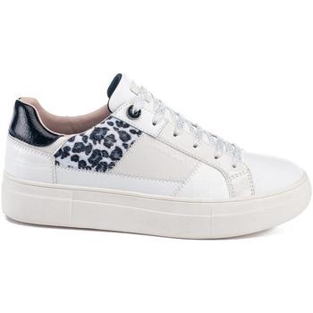 kengät Naiset Matalavartiset tennarit Lumberjack SW86612 002 Y44 Valkoinen