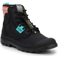 kengät Korkeavartiset tennarit Palladium Lite OVB Neon U 77082-008 black