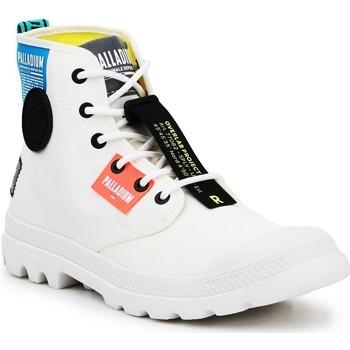 kengät Korkeavartiset tennarit Palladium Manufacture Lite OVB Neon U 77082-116 white