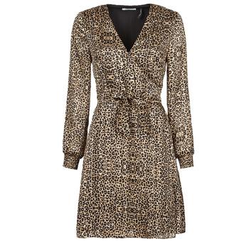 vaatteet Naiset Lyhyt mekko Les Petites Bombes CECILIE Leopardi