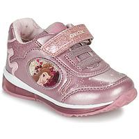 kengät Tytöt Matalavartiset tennarit Geox TODO Vaaleanpunainen