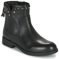 kengät Tytöt Bootsit Geox AGATO Musta