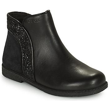 kengät Tytöt Bootsit Geox SHAWNTEL Musta