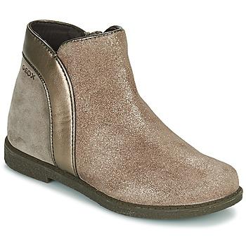 kengät Tytöt Bootsit Geox SHAWNTEL Kulta