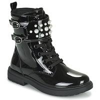 kengät Tytöt Bootsit Geox ECLAIR Musta