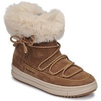 kengät Tytöt Bootsit Geox REBECCA WPF Kamelinruskea