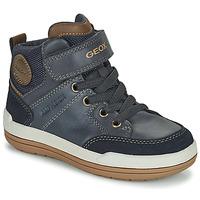 kengät Pojat Bootsit Geox CHARZ ABX Laivastonsininen