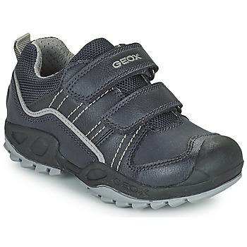 kengät Pojat Bootsit Geox SAVAGE Laivastonsininen