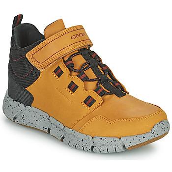 kengät Pojat Bootsit Geox FLEXYPER ABX Marron