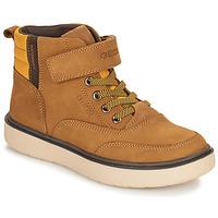 kengät Pojat Bootsit Geox RIDDOCK WPF Kamelinruskea