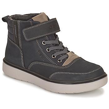 kengät Pojat Bootsit Geox RIDDOCK WPF Laivastonsininen