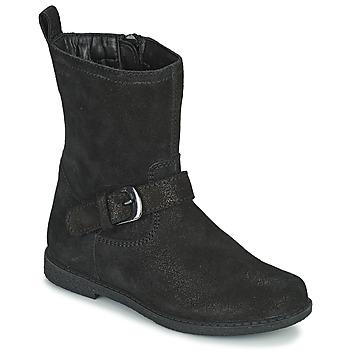 kengät Tytöt Saappaat Geox SHAWNTEL Musta