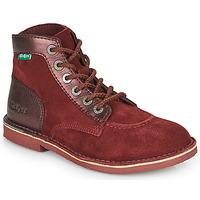 kengät Naiset Bootsit Kickers ORILEGEND Viininpunainen / Tumma