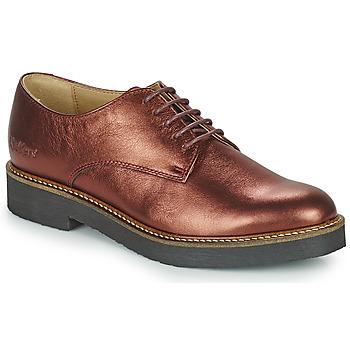 kengät Naiset Derby-kengät Kickers OXFORK Violetti